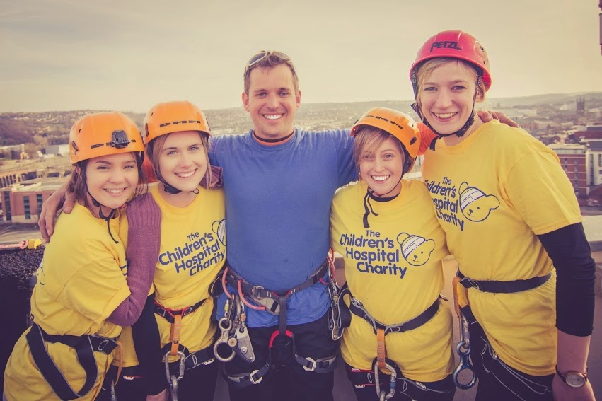 Charity Abseil Sheffield