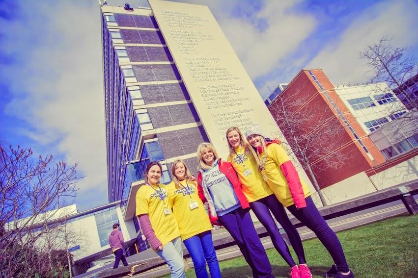 Charity Abseil Sheffield