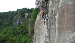 Guided Rock Climbing in the Wye Valley