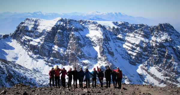 Toubkal Dave Talbot - Adventure Events