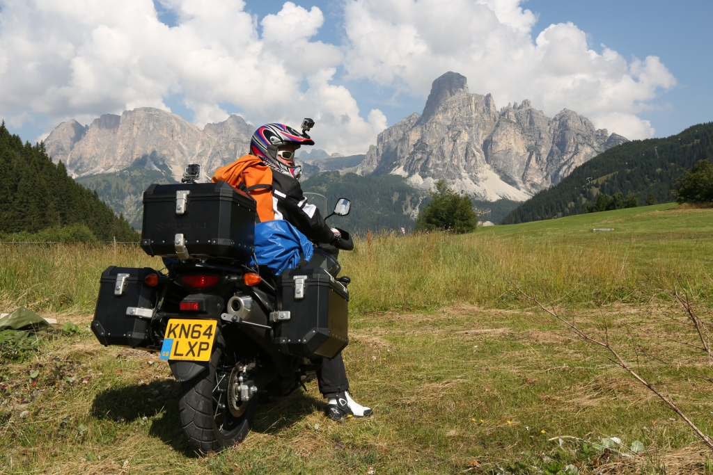 The equipment carried on the bikes from the Dolomites to Triglav