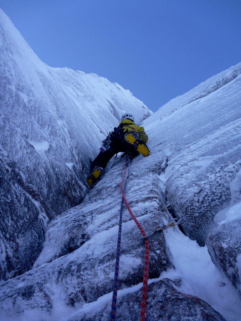 Dave Talbot Winter Climbing