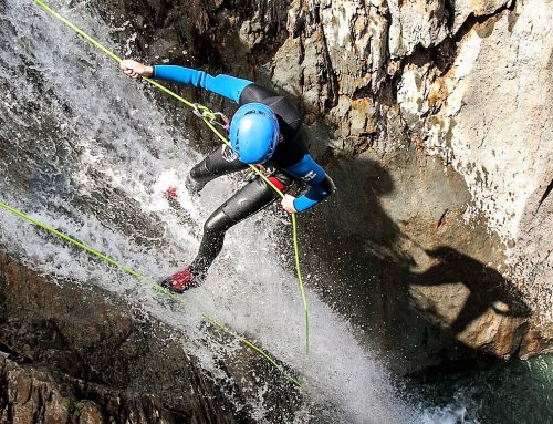Canyoning – let's take the plunge