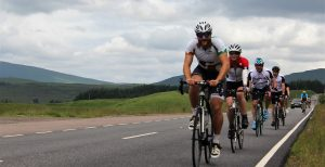 Cycling on the 3 peaks