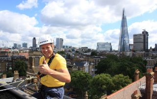 Central London charity abseil event