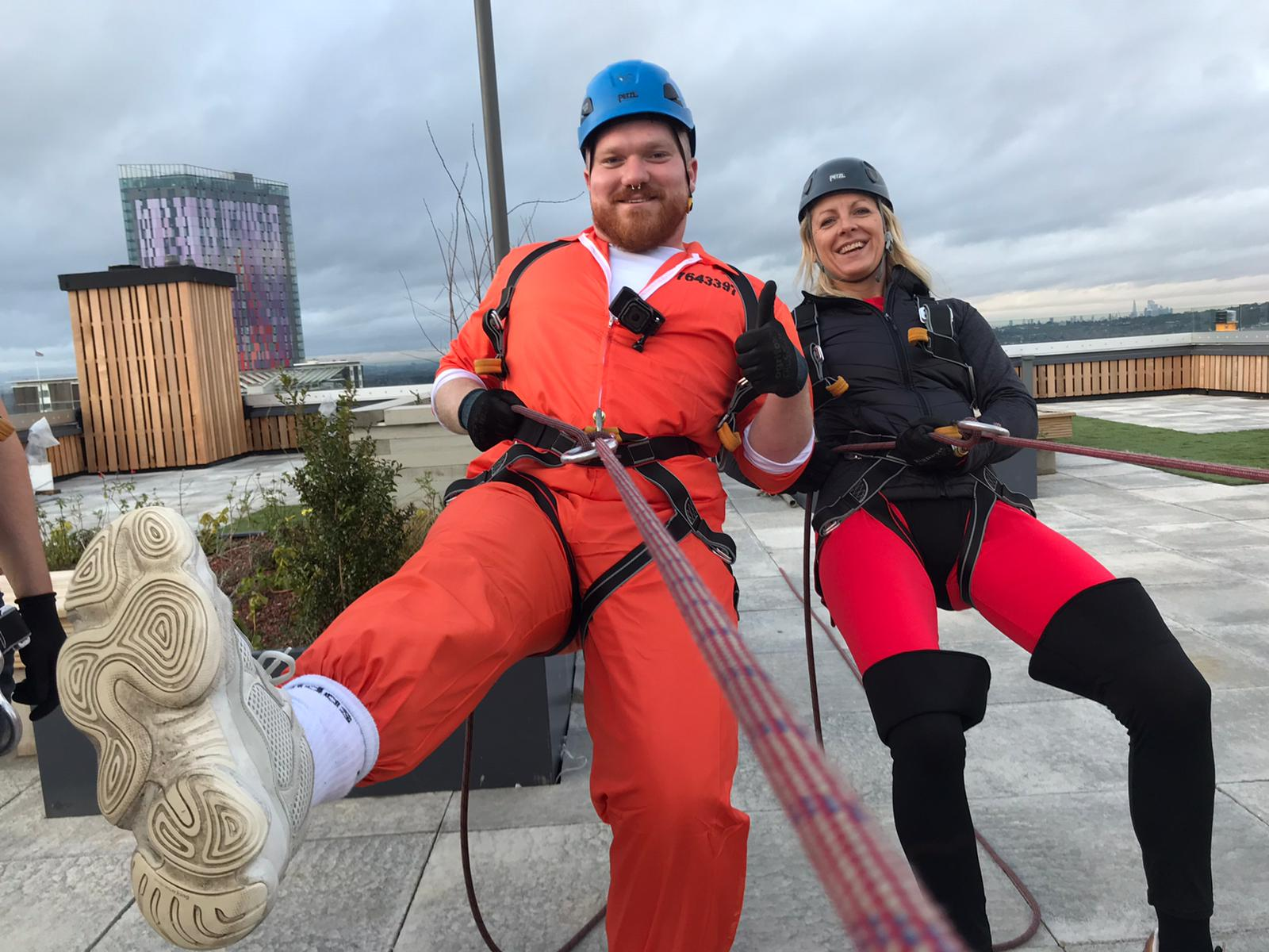 Charity Abseil Event in London