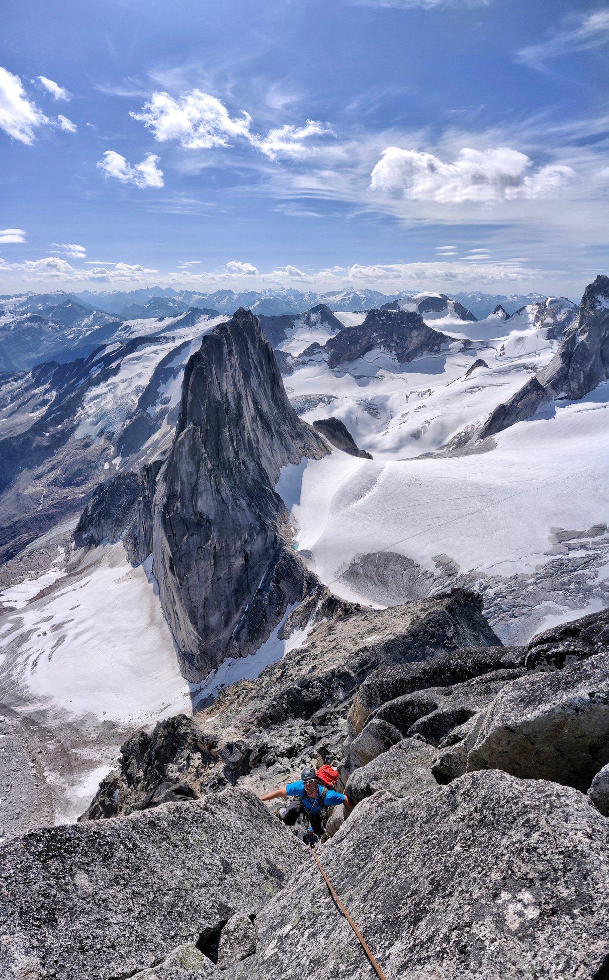 Mountain guiding