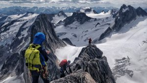 Mountaineering in the Bugaboos Canada