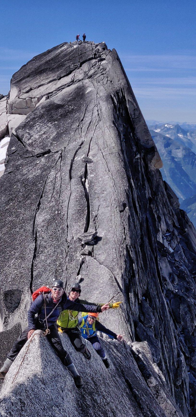 Rock climbing guiding