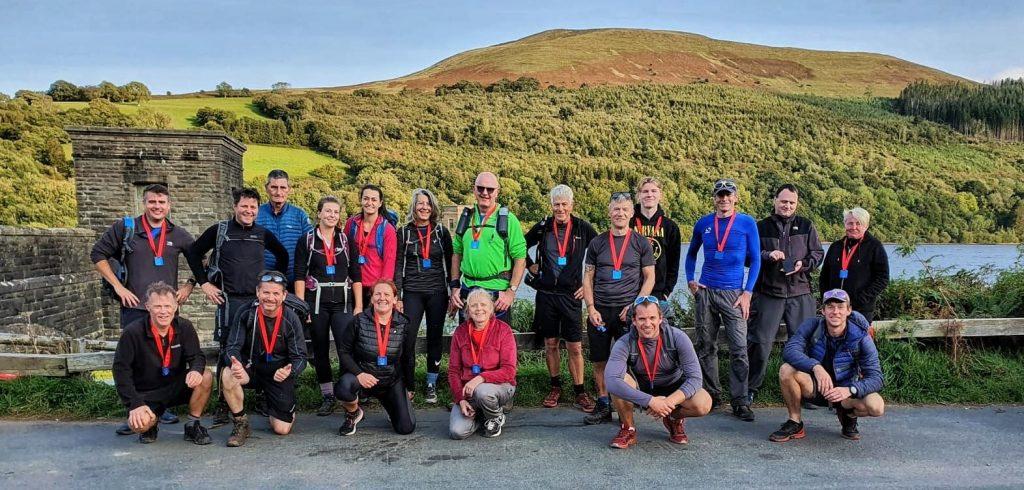 Brecon Beacon 10 Peak Challenge Finishers