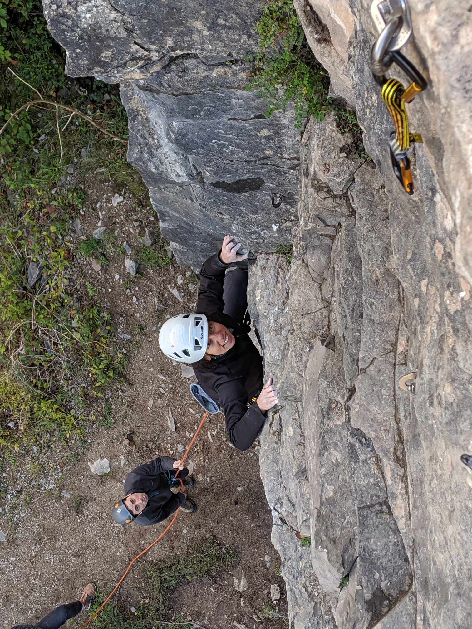 Learn to lead rock climbing courses