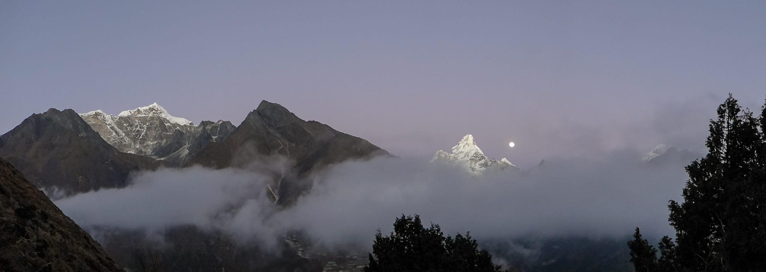 Stunning view in Nepal