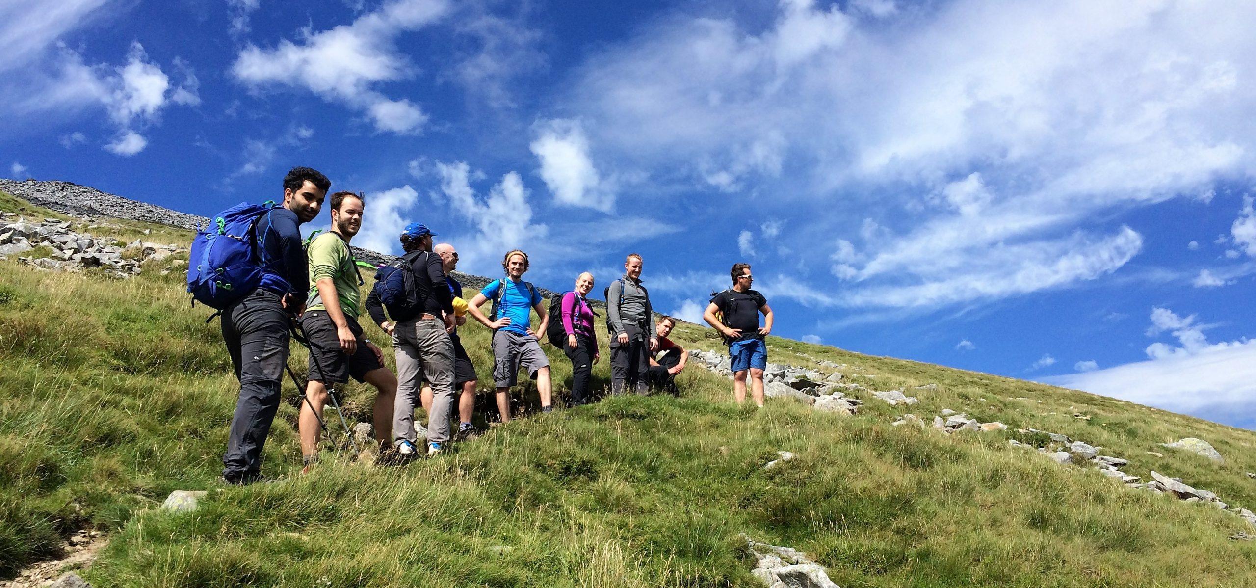 Welsh 3000s challenge - Dave Talbot Adventure Events