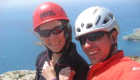awesome fun rock climbing